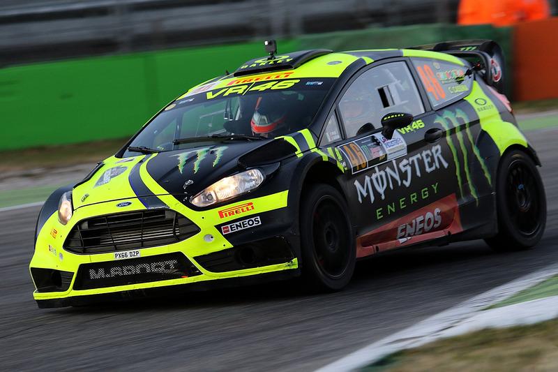 Enggak Ada Lawan, Valentino Rossi Jadi Juara Rally Monza 2018