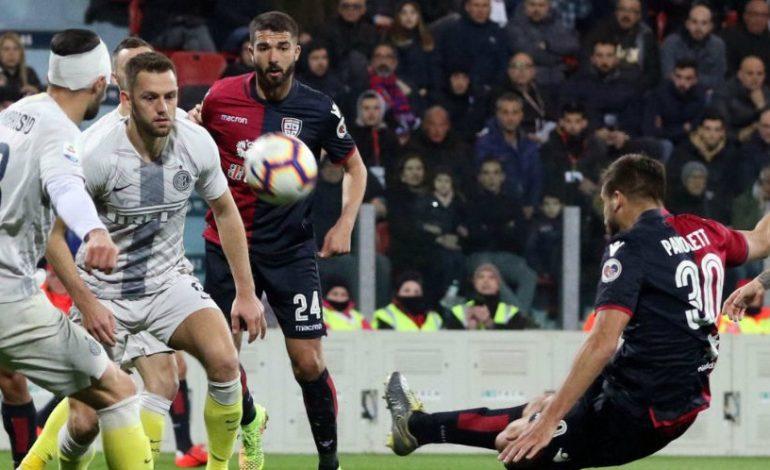 Hasil Pertandingan Cagliari vs Inter Milan: Skor 2-1