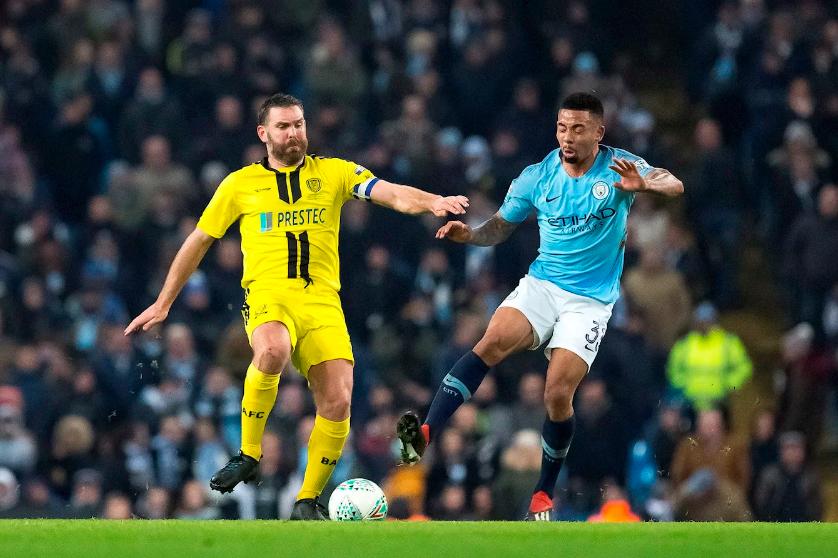 Manchester City Permak Burton Albion Sembilan Gol Tanpa Balas